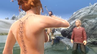 Repeat youtube video Skyrim Mod Review 35 - Bath Time Senpai? - Series: Boobs and Lubes