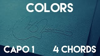 How To Play Colors by Jason Derulo | Capo ( Chords) Guitar Lesson
