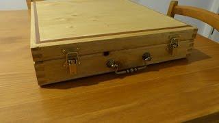 [scrapwood] Wooden Suitcase Toolbox - Valise Boîte à Outils En Bois - Part 1/2