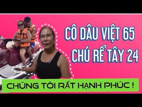 Bí mật chuyện tình cô dâu Việt 65 tuổi và chú rể Tây 24 tuổi !   Thuy To Official