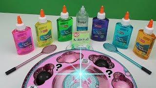 3 renk Slime Challenge !! LOL Sürpriz Yumurtadan Ne çıkarsa Şansına Karbonatlı Slime Bidünya Oyuncak