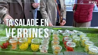 Nouveau bar à salades au Café Batttelle (GE)