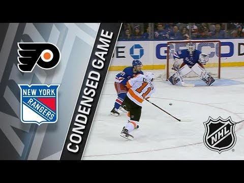 Philadelphia Flyers vs New York Rangers – Feb. 18, 2018 | Game Highlights | NHL 2017/18. Обзор