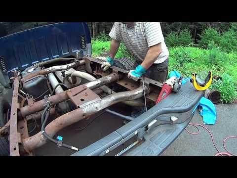 Silverado, Sierra Truck Frame restoration, Rust War