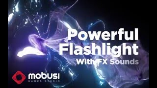 POWERFUL FLASHLIGHT WITH FX SOUNDS (Android App) Mobusi Games Studio