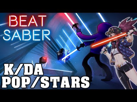 Beat Saber - POP/STARS - K/DA [League Of Legends] | FC thumbnail