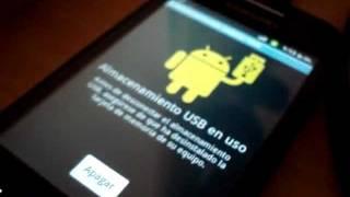 Como conectar tu Samsung Galaxy Ace a la pc