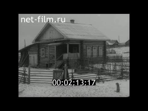 1958г. с. Старая Тушка  колхоз имени Мичурина Малмыжский район Кировская обл