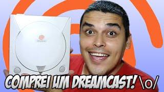 Comprei um Dreamcast \o/ - Re-unboxing, Review e Teste