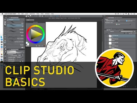 Clip Studio Paint Basics (Updated Video Available!)
