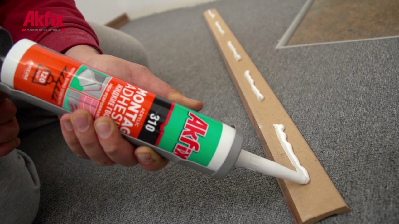 A Simple Trick To Install Baseboard Perfectly No Nail