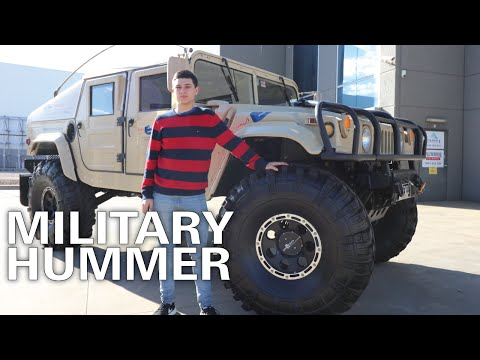 Ex Military Humvee Hummer Mini Review