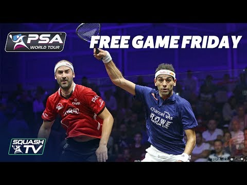 Squash: ElShorbagy v Rosner - Free Game Friday - World Series Finals 2017/18