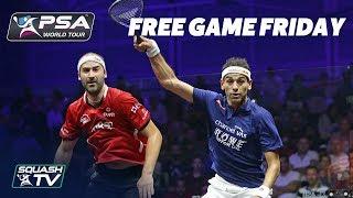 Squash: ElShorbagy v Rosner - Free Game Friday - World Series Finals 2017/18