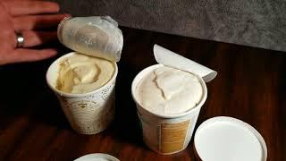 Comparison: Halo Top vs Arctic Zero ice cream