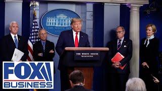 Trump, Dr. Fauci participate in Coronavirus Task Force briefing