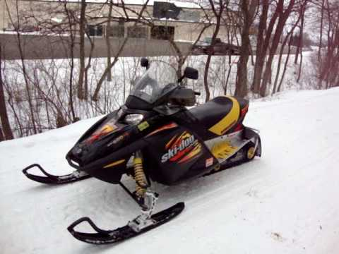 Ski Doo 2003 Mxz 600cc Ho Test Run After Replaceing Reed Valves With