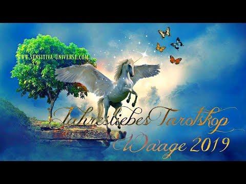 SENSITIVA UNIVERSE® JahresLiebesTarotskop 2019 | Sternzeichen: WAAGE - Deine Liebe In 2019 ♥