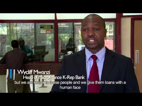 Supporting microfinance in Kenya