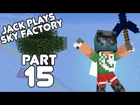 Loads of cloches! Jack plays Sky Factory Part 15!
