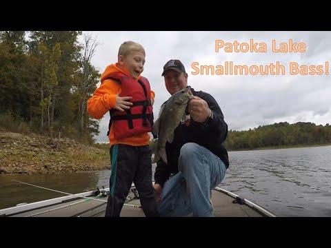 Patoka Lake Smallmouth Bass! October 2020