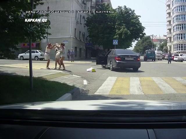 รถข้าใครอย่าแตะ หรืออยากโดนตบ?
