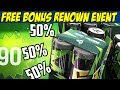 Rainbow Six Siege Free Renown Bonus Event! Activate BOOSTERS! Get renown faster! PC PS4 XBOX ONE