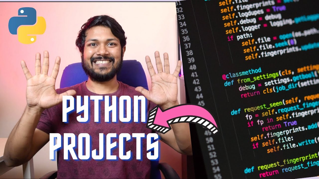10 Python Projects You Can Do Today [Code Included]