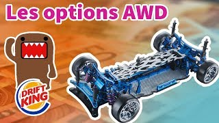 Les meilleurs OPTIONS pour AWD en RC-DRIFT
