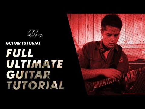 MOST UNIQUE VIDEO GUITAR LESSON Balawan Ultimate Guitar Lesson