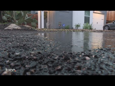 Potholes lead to flooding fears in north Austin
