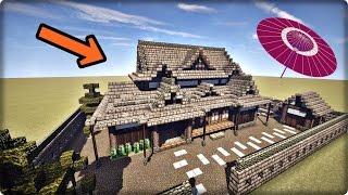 【マインクラフト】家を和風建築してみる【和風の家の作り方】