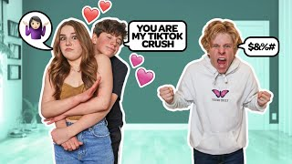 I Am His Tik Tok Crush! **My BOYFRIEND Reacts**💔 | Piper Rockelle