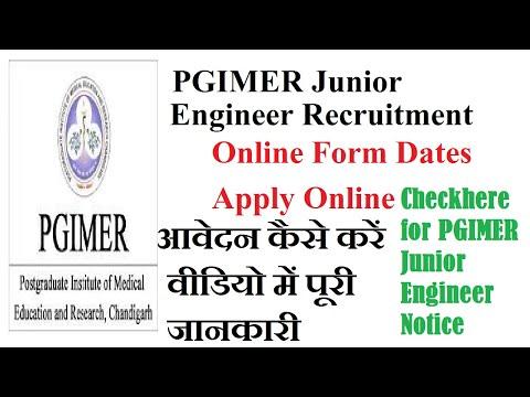 PGIMER Junior Engineer