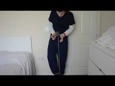 Ankle cuffed & locked on leather thigh boots from YouTube · Duration:  49 seconds