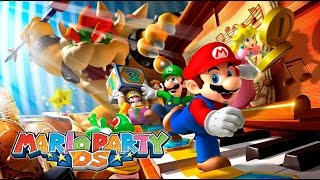 PULSA en Mario Party DS - Modo Historia