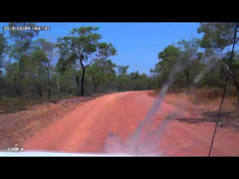 Video 238-Kakadu Highway-Jim Jim Falls Road to Garnamarr Camping Area
