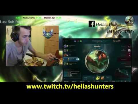 hellashunter livestream 28.09.2016 (part 1)