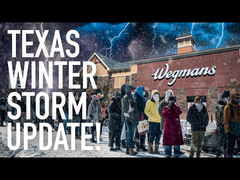 Texas Facing Humanitarian Crisis: Winter Storm Has Brought America To Its Knees