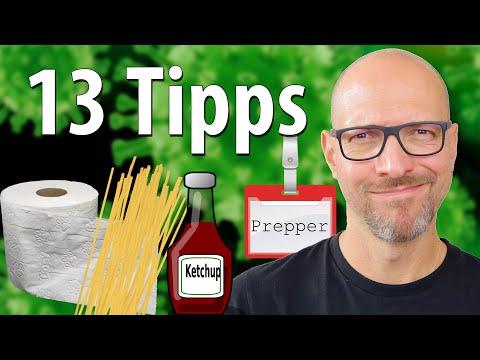 Krisenvorsorge für Anfänger: 13 Tipps vom Profi Prepper ????