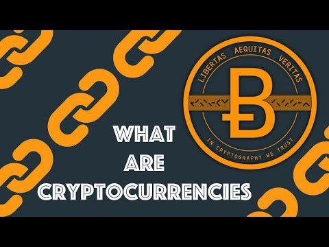 What is a blockchain with cryptocurrencies