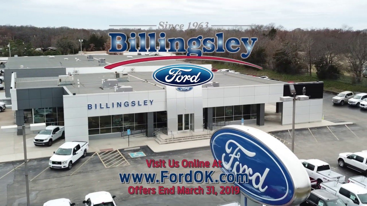 Billingsley Ford Ardmore >> Billingsley Ford Of Ardmore Truck Month 2019 Youtube