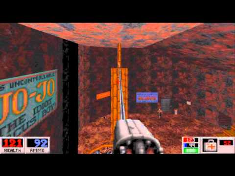 Retro Gaming - Blood 1 in DOSBox