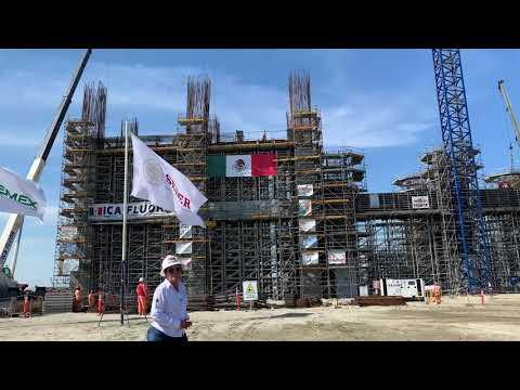 Avance de Obra Refinería de Dos Bocas, 31 Diciembre 2020