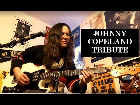 Johnny Copeland Tribute by Alicia Marie on Guitar/Vocals