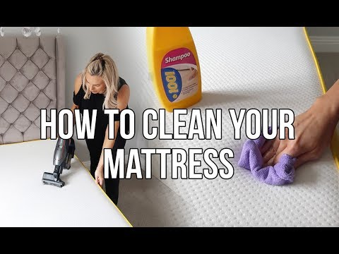 HOW TO DEEP CLEAN A MATTRESS AND THE BEST THING YOU CAN DO TO PROTECT IT FROM STAINS
