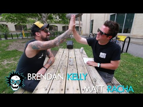 Brendan Kelly {The Lawrence Arms & The Falcon} Interview