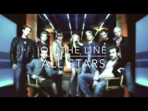 On The Line (HQ) - All Stars - NSYNC, Mandy Moore, Christian Burns & True Vibe