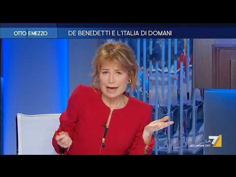 Otto e Mezzo la7 - De Benedetti e l'Italia di domani