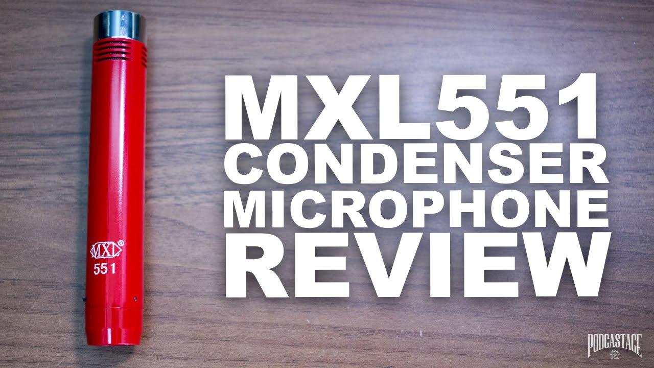 mxl 551 xlr condenser microphone review test youtube. Black Bedroom Furniture Sets. Home Design Ideas